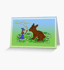 Osterfee Greeting Card