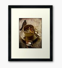 Cold Coffee Framed Print