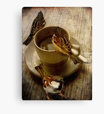 Cold Coffee Canvas Print