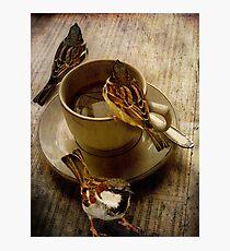 Cold Coffee Photographic Print