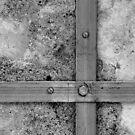 Aligned screws by Peter Dickinson