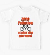 Zero Pollution (Fr) Kids Tee