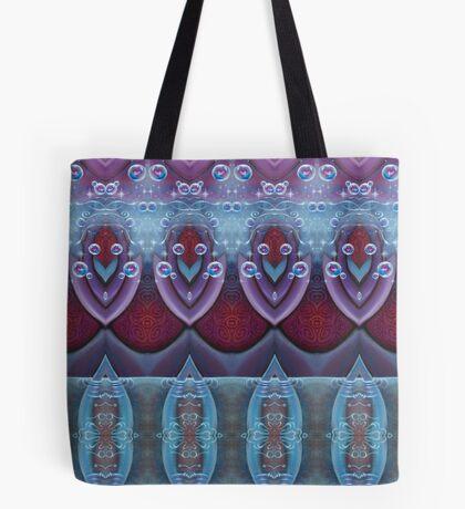 Velvet Lotus Tote Bag
