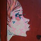 Street art girl two by exuberantspirit