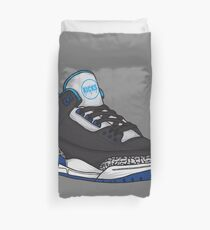 Shoes Blue Grey (Kicks) Duvet Cover