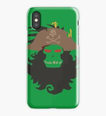 The Ghost Pirate LeChuck Minimalistic Design iPhone Case