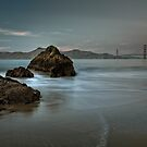 The Golden Gate by Joseph Fronteras