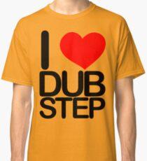 I love dubstep (dark)  Classic T-Shirt