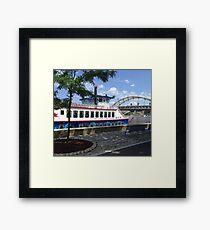 Pittsburgh Gateway Clipper Framed Print