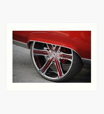 Automotive Bling Art Print