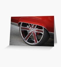 Automotive Bling Greeting Card