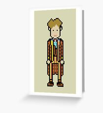 Sixth Doctor Greeting Card
