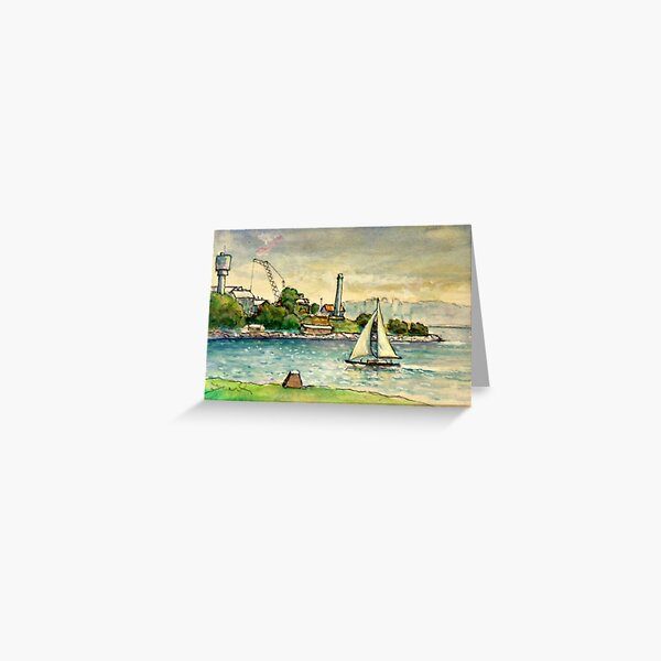 Cockatoo Island, Sydney Harbour Greeting Card