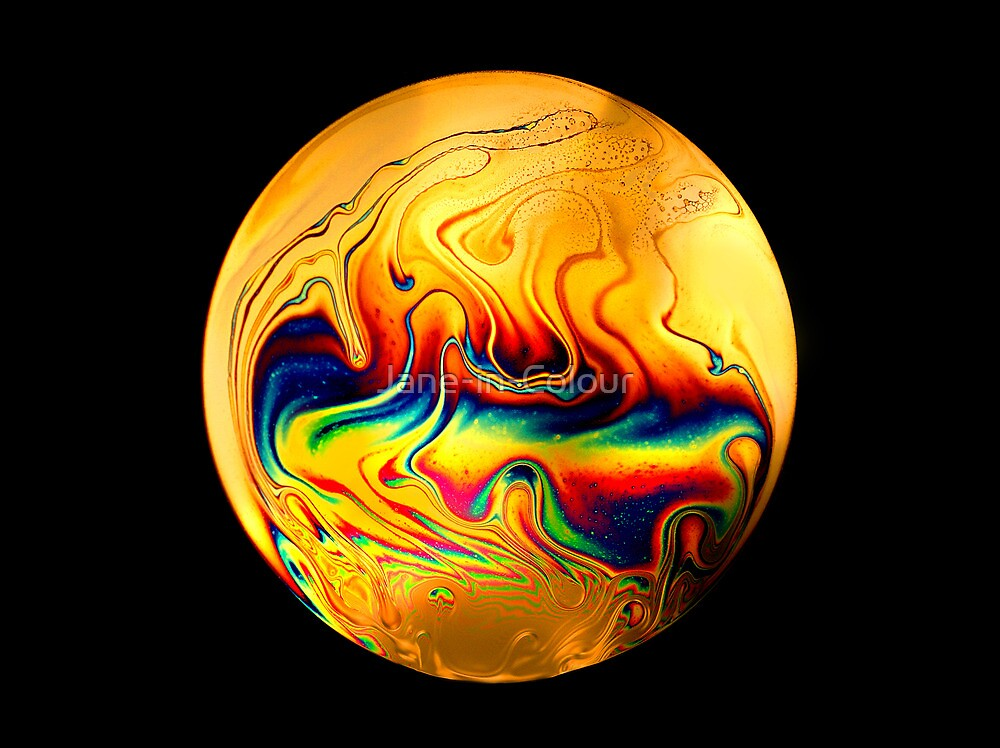 Soap Film #4 by Jane-in-Colour