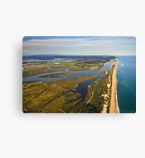 Marlo .Vic. East Gippsland with Ocean View Canvas Print