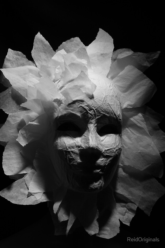Paper Mask by ReidOriginals