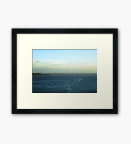 On My Way Framed Print