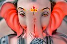 Portrait of Lord Ganesh by Prasad