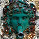 Photo: Old Fountain Water Spout Looking Like a Lady Mask by fanfreluche