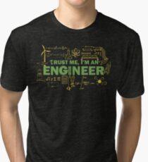 Science Engineer Humor Tri-blend T-Shirt