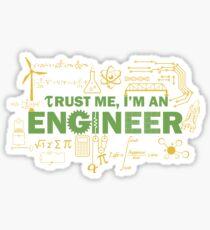 Science Engineer Humor Sticker