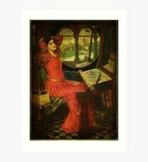 Pre Raphaelite Art Print