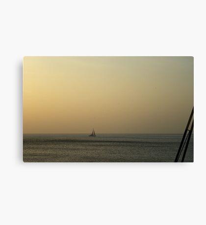 Evening Cruise Canvas Print