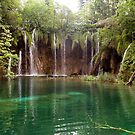 Waterfall at Plitvice Lakes, Croatia by Robert Down