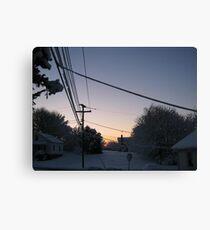 Feb. 19 2012 Snowstorm 73 Canvas Print