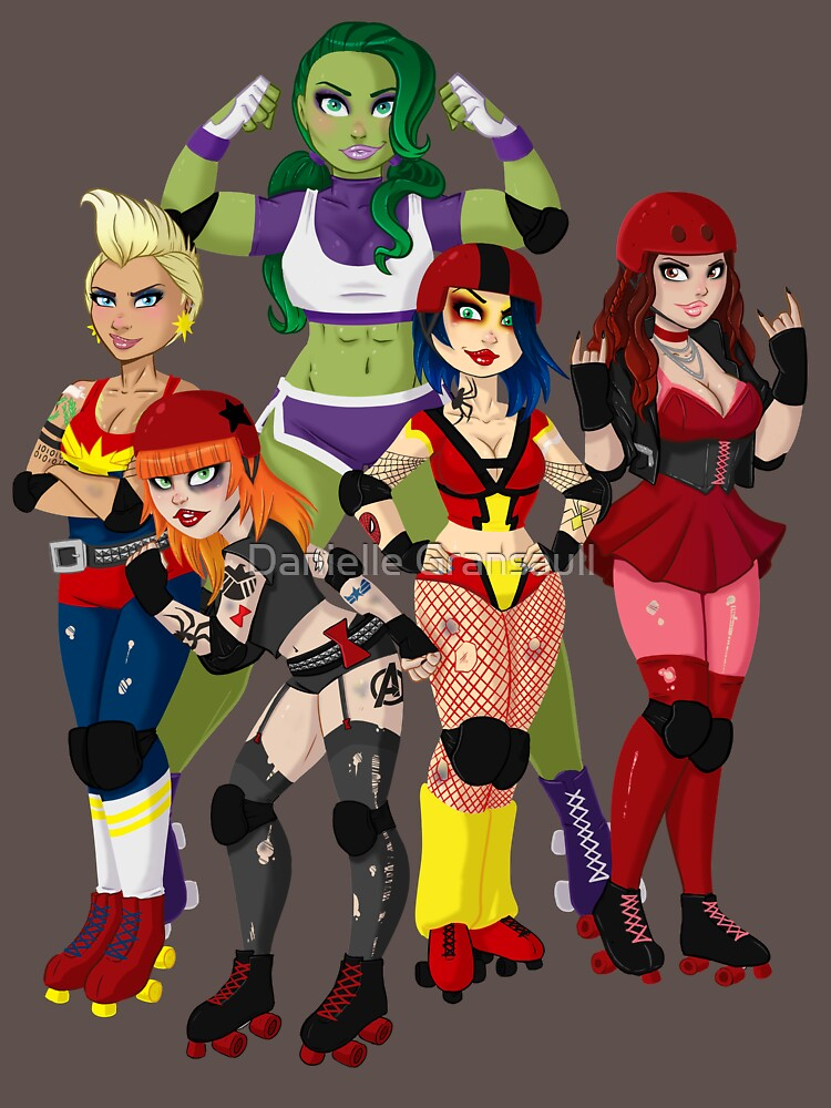 The Avenging Derby Girls by dsoloud