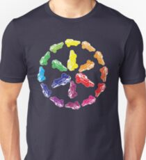 Ford Mustang / Itten Color wheel Unisex T-Shirt