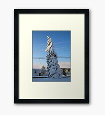 Feb. 19 2012 Snowstorm 109 Framed Print