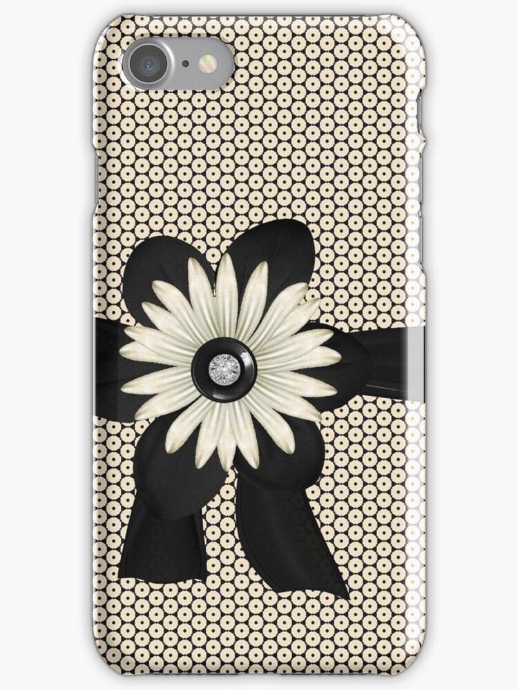Funky yet Pretty Iphone or Ipod Case by jvinnyg