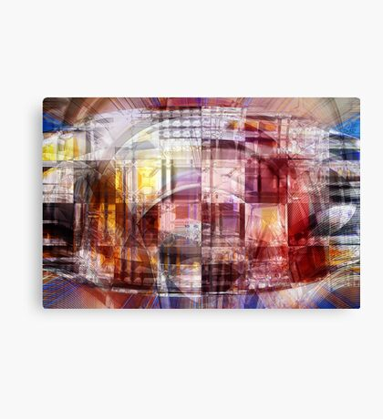 The sum of all parts Canvas Print