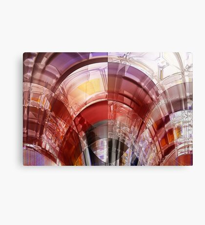 The parting of all sums Canvas Print