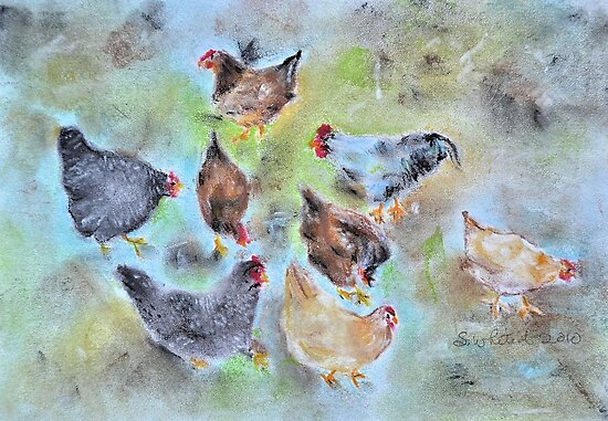 Assembly Of The Coop by Shelda Whited
