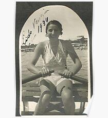 LA ZIA ANGELA AL LIDO DI VENEZIA - ITALIA  1934- .5000 visualizz2015  -  &  FEATURED RB EXPLORE 10 OTTOBRE 2011 ---. Poster
