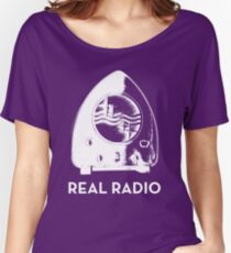Real Radio - Dark Women's Relaxed Fit T-Shirt
