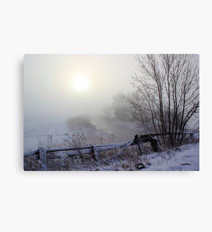 Hidding the Dawn Canvas Print
