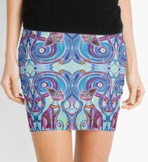 Fractaline Feline Mini Skirt