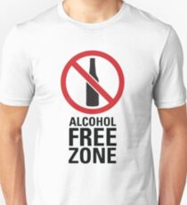 Alcohol Free Zone - Light Unisex T-Shirt
