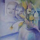 still life with grandsons by Ellen Keagy