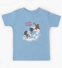Calvin And Hobbes snow wars Kids Clothes