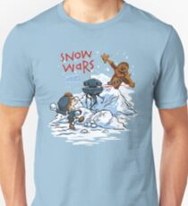 Calvin And Hobbes snow wars T-Shirt