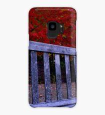 Fall Bench Case/Skin for Samsung Galaxy