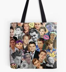 Leonardo DiCaprio Collage Tote Bag