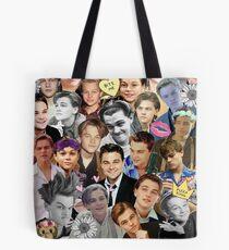 Leonardo DiCaprio Collage Tote Bag