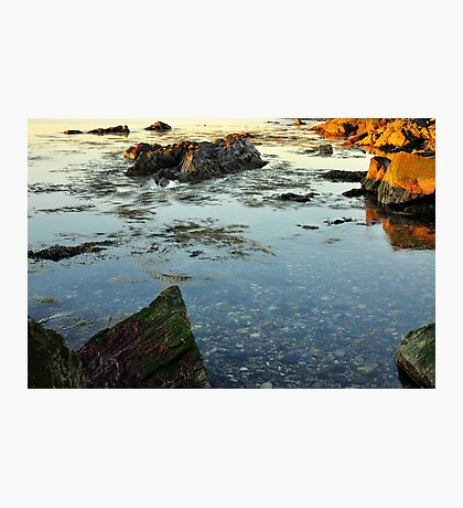 Morning Tidal Shoals  Photographic Print