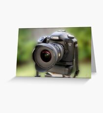 Canon EOS 7D Greeting Card