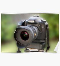 Canon EOS 7D Poster